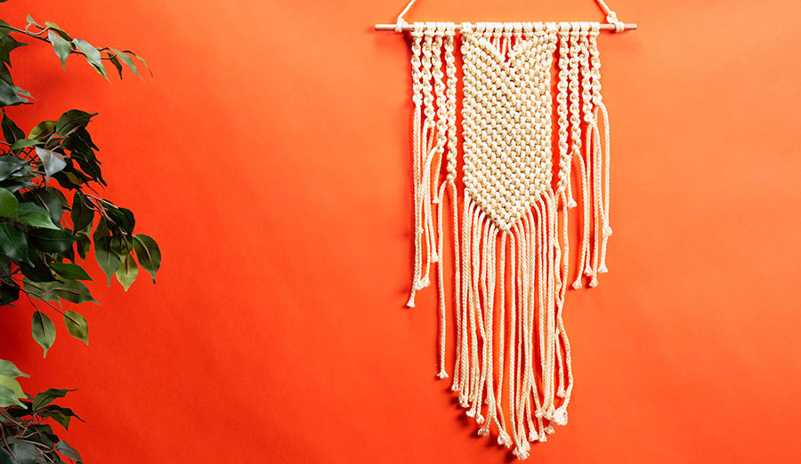 Get Knotty: Craft This Beginner-Level Macrame Wall Hanging