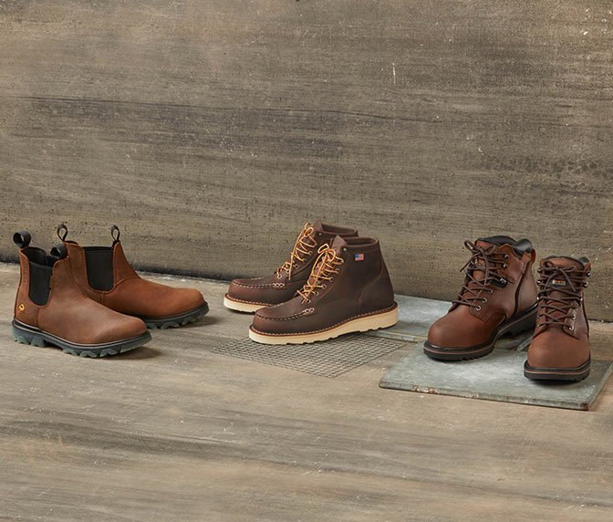 Save even more on workwear boots.