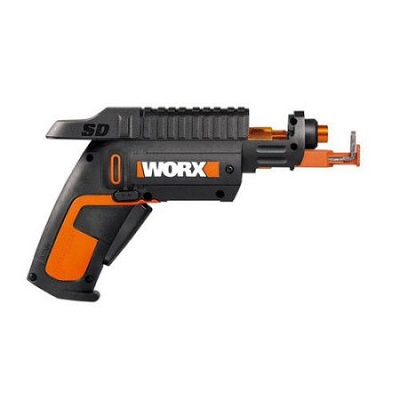 Worx Cordless Lithium-Ion SD Semi-Automatic Screwdriver with Screw Holder
