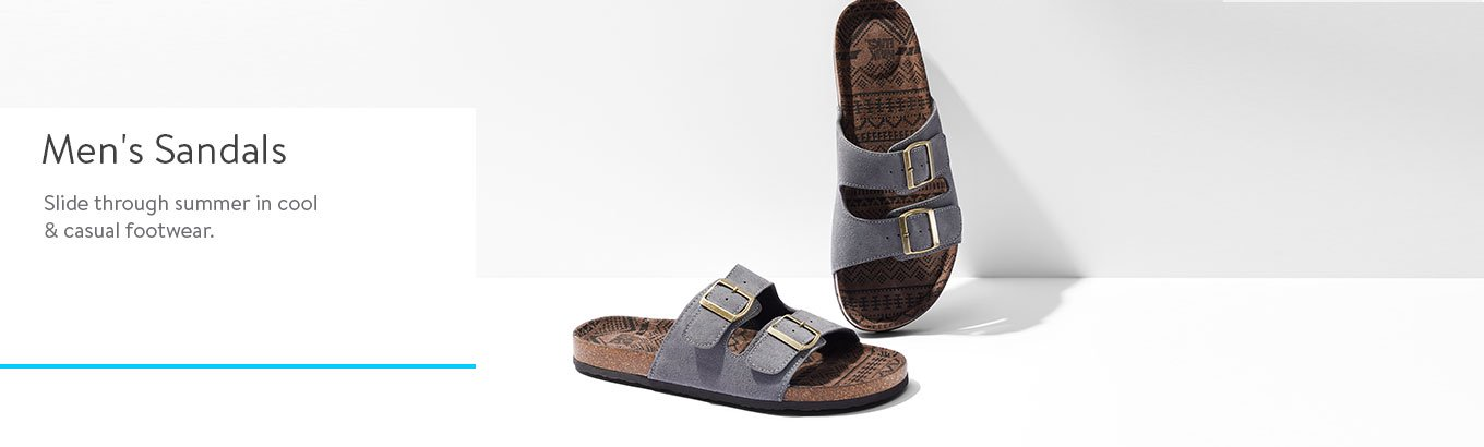 ffbab1d9b7e6 Mens Sandals - Search Banner