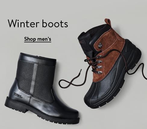 Winter boots. Shop men's.