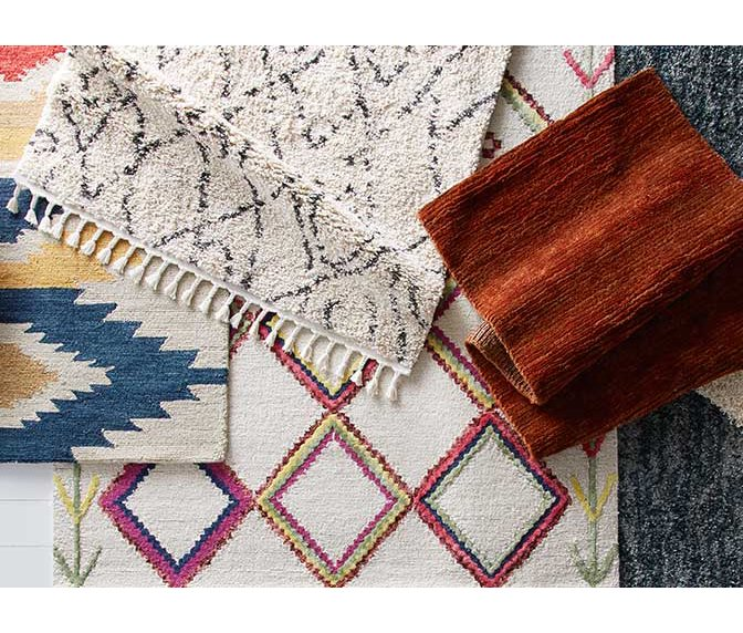 c35d78dba205 Sophisticated rugs in earth tones keep your space grounded.