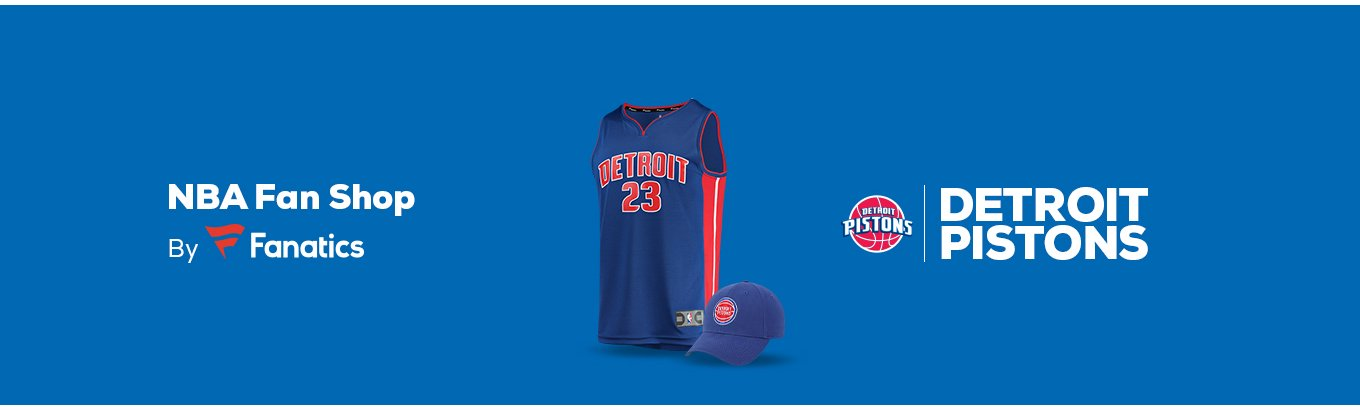 Detroit Pistons Team Shop