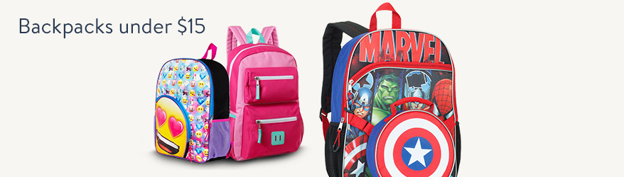 Backpacks under $15