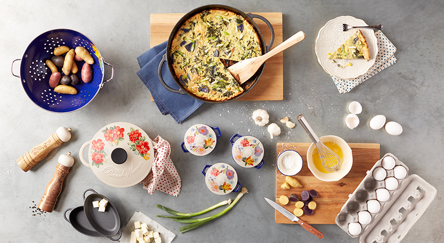 New From The Pioneer Woman. Add flair to your summertime fare with fresh new cookware embellished with pretty prints.