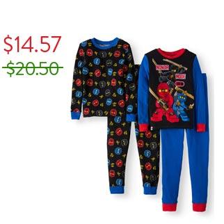 LEGO Glow in the Dark Ninjago Pajama Set
