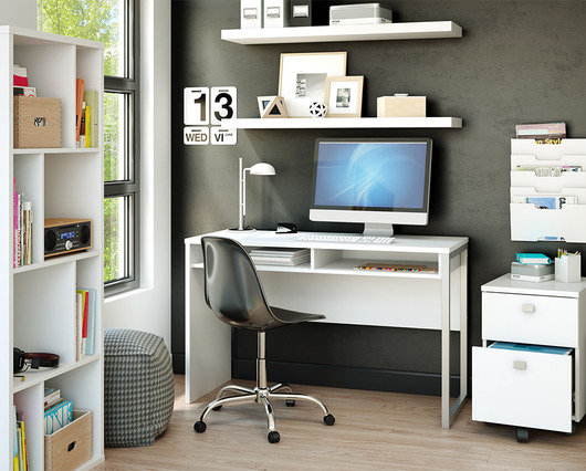 Simple Home Office 10 simple home office organizing solutions - walmart