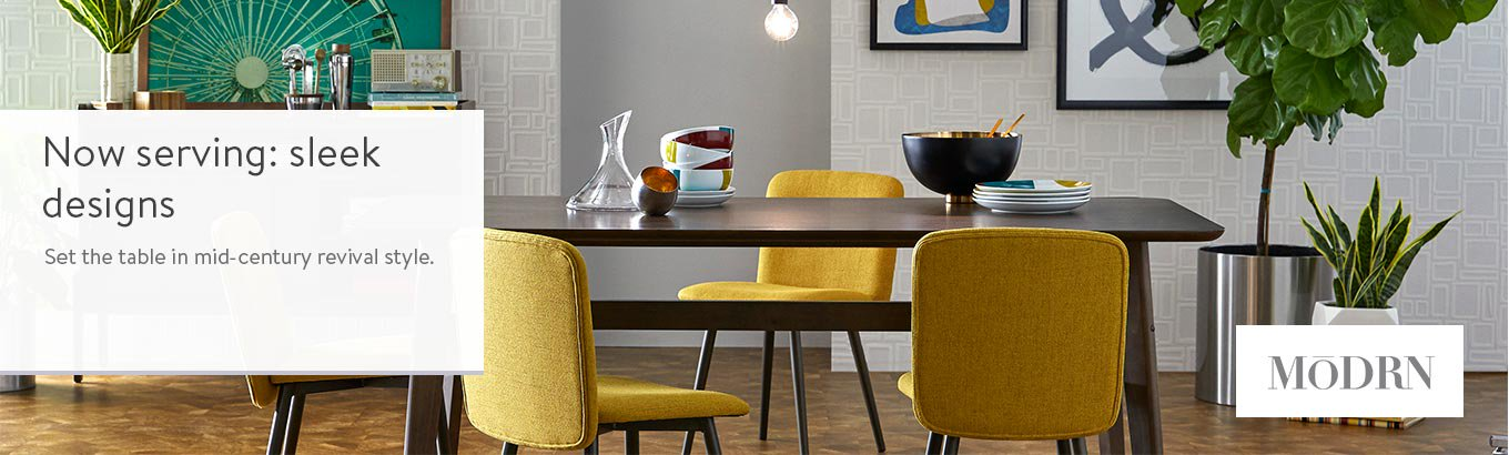 Shop Modrn Mid-Century Dining Furniture