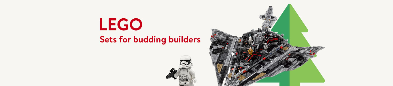 Lego sets for budding builders