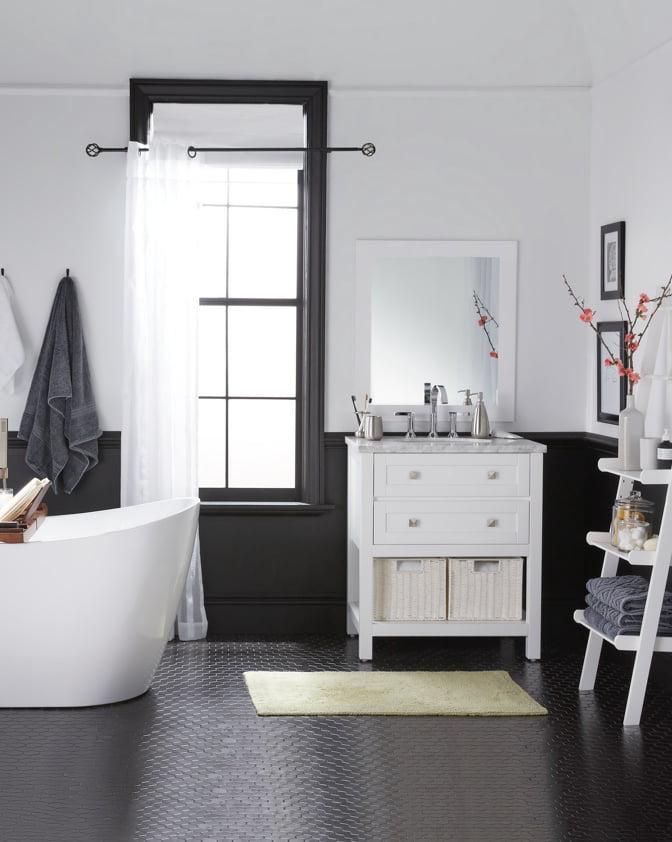 3 Small Bathroom Ideas - Walmart.com on Small Space Small Bathroom Ideas  id=43307