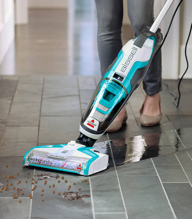 Get a vacuum just for hardwood.