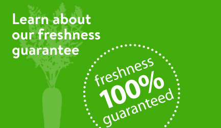 Learn about our freshness guarantee