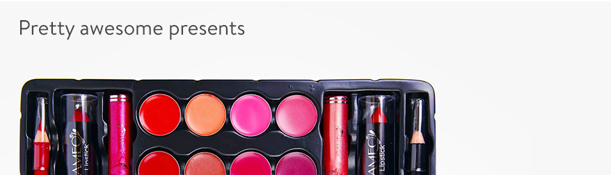 Awesome cosmetics gifts. Shop now.
