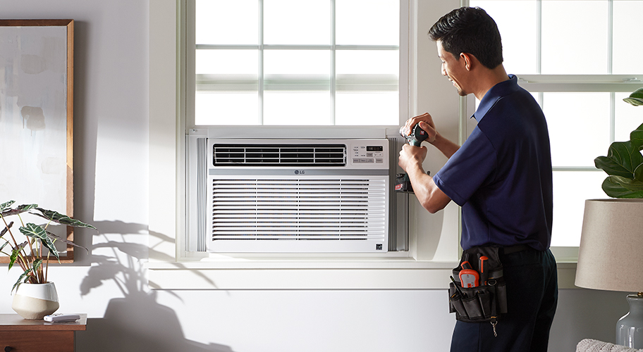 Hassle-free help. Let an expert set up your new A/C—just add installation services to your purchase at checkout and get cool quick. Shop now.