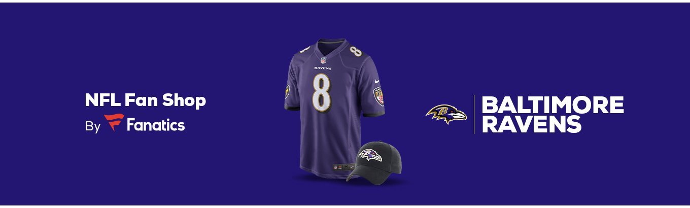 new concept b4e69 e4e2f Baltimore Ravens Team Shop - Walmart.com