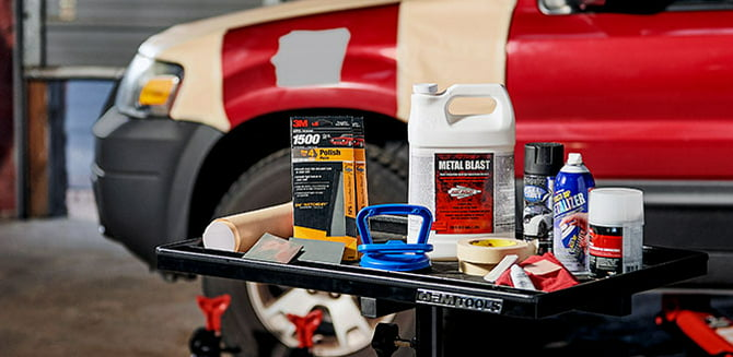 Shop auto body and paint supplies