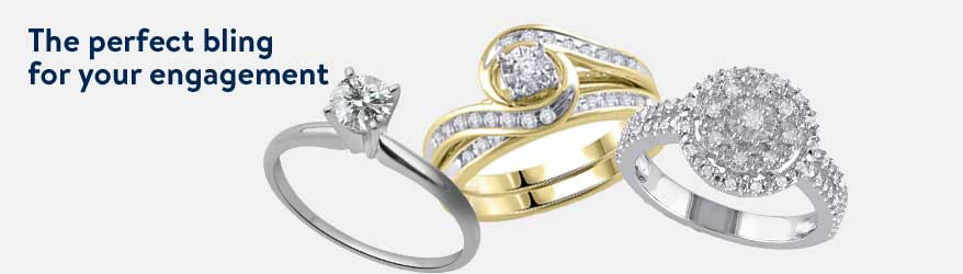 Get the perfect bling for your engagement.