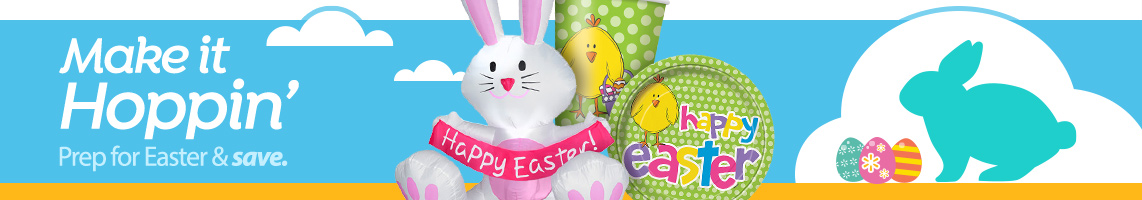 Easter party decor walmart shop easter party supplies negle Images