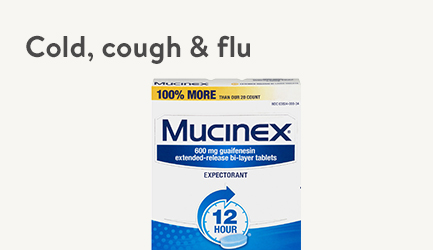 Shop Cough, Cold & Flu