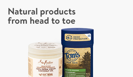 Natural bath & body products at Walmart.com