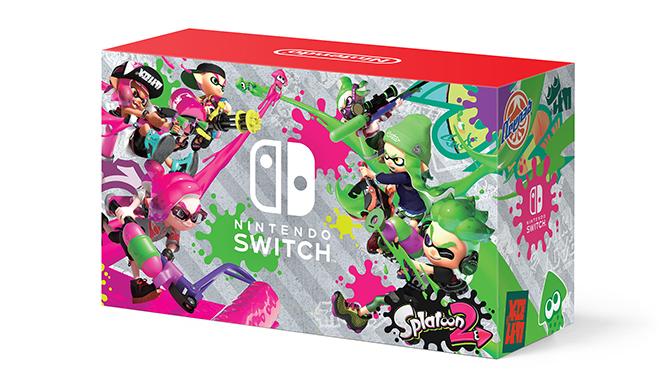 Walmart-exclusive Nintendo Switch Splatoon 2 bundle