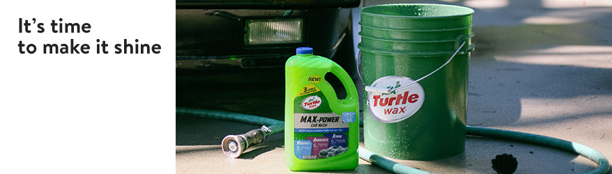 It's time to make it shine. Shop for car-care products.