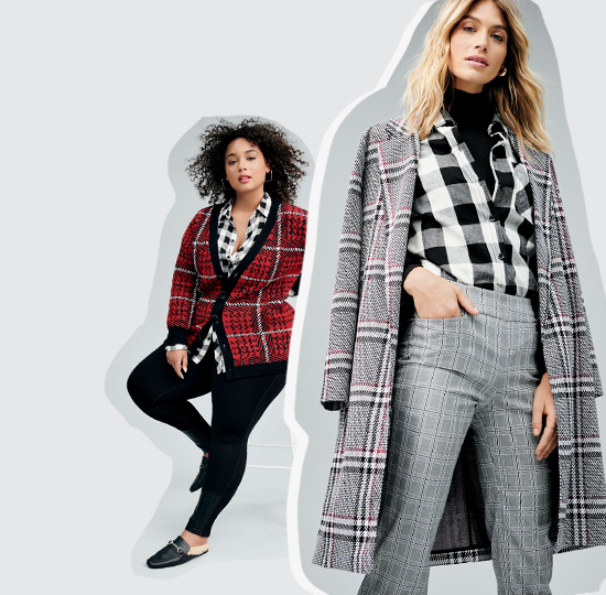 Shop the checkmate trend. Add a little or go head to toe.