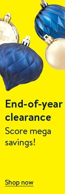 End-of-year clearance.