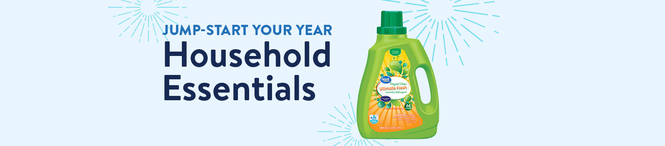Jumpstart your year: Household essentials
