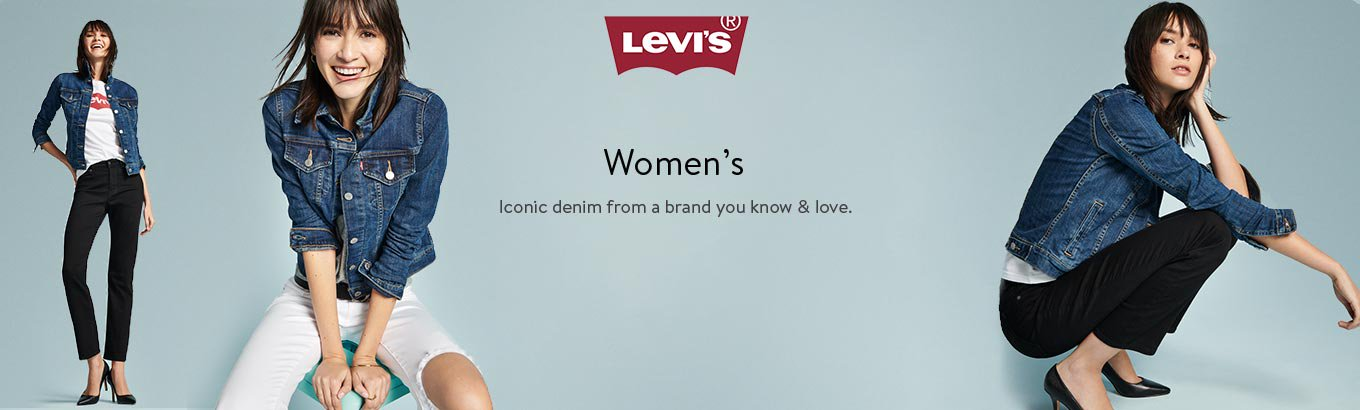 Levi's. Women's. Iconic denim from a brand you know & love.