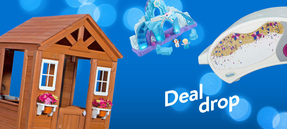 Deal drop. Deals, deals, deals. Score huge savings on the hottest toys. From LEGO to Ryan's World, find all their wish-list faves at amazing prices. Hurry—deals this good won't last. Shop now.