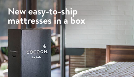 New easy-to-ship mattresses in a box
