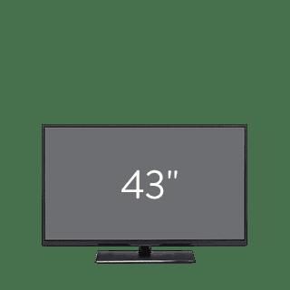 43 Inch TVs