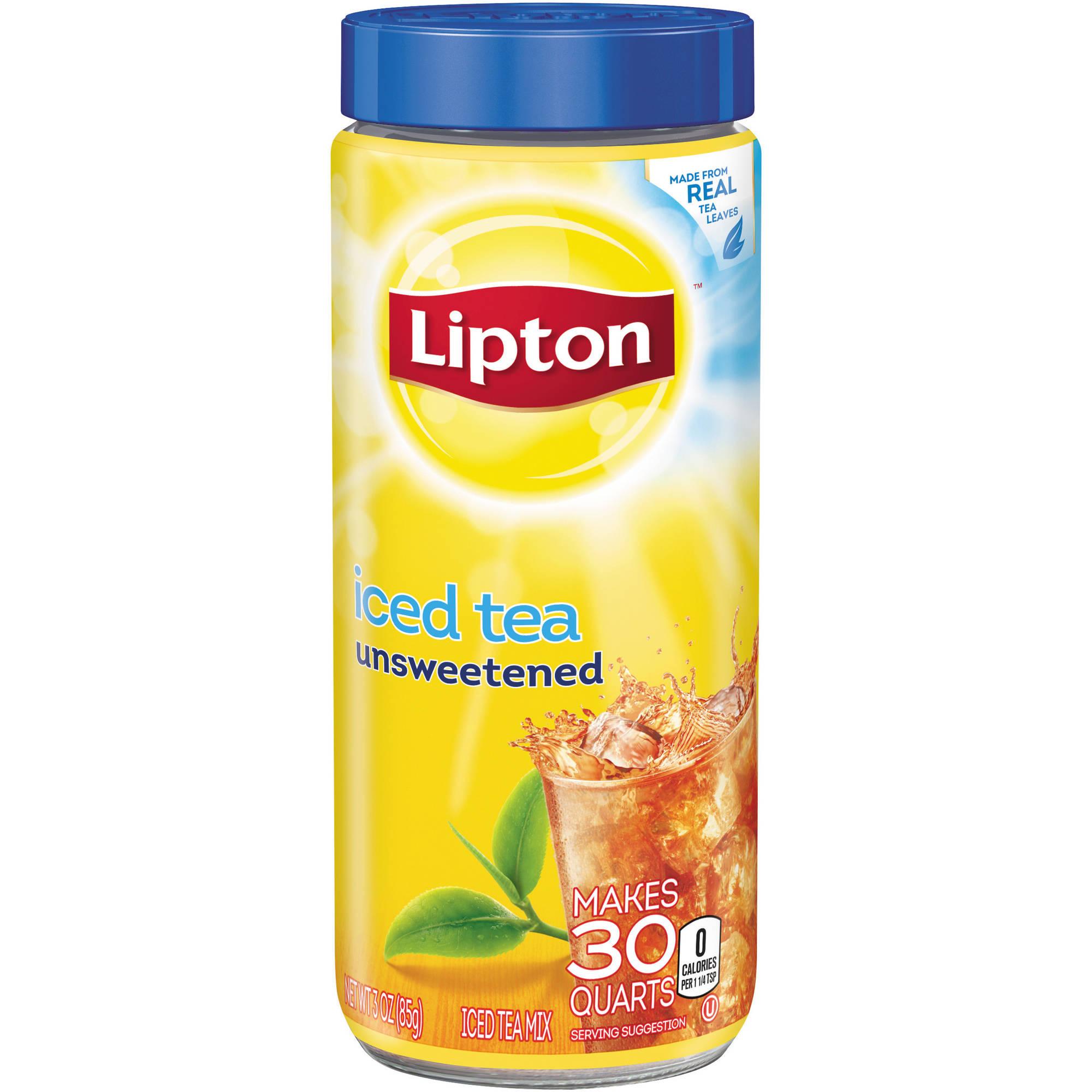 Lipton Drink Mix, Black Iced Tea, 3 Oz, 1 Count
