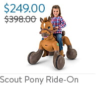 Scout Pony Ride-on