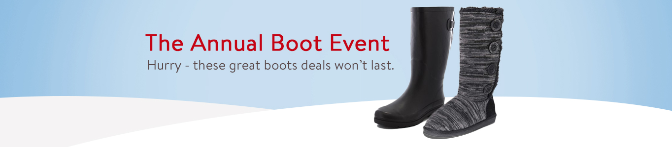 Annual Boot Event
