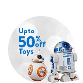 Up to 50% off: Toy Deals