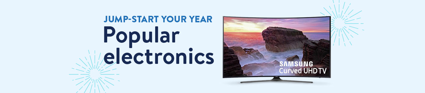 Jumpstart your year: Popular electronics