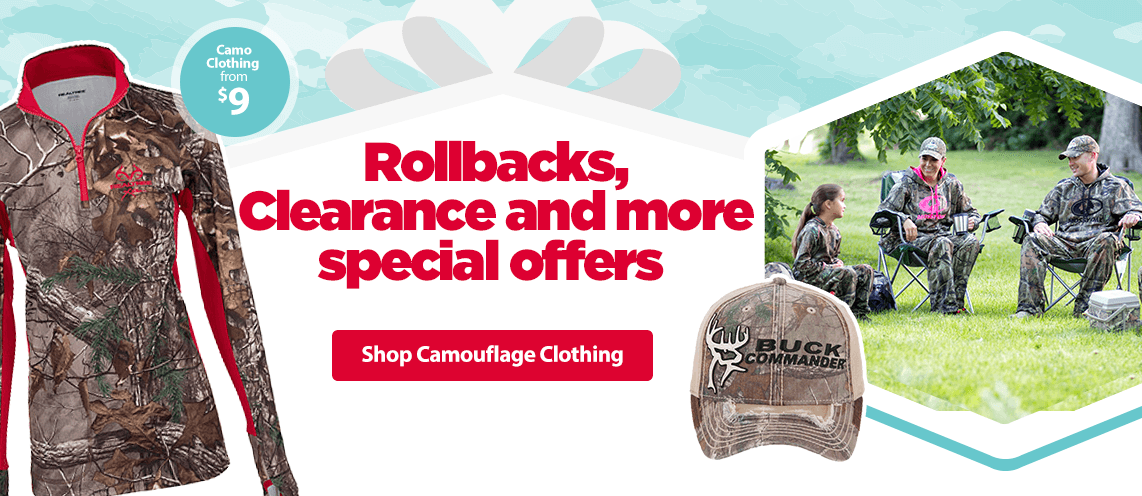 Hunting Rollbacks & Clearance