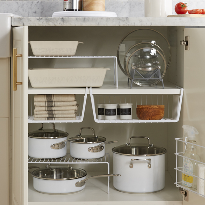 Take control of your kitchen's cabinets.
