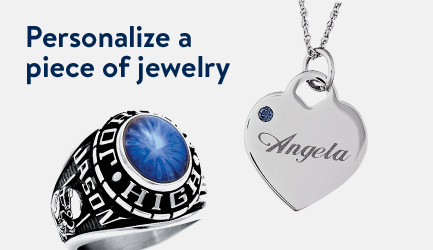 Personalize a piece of jewelry.