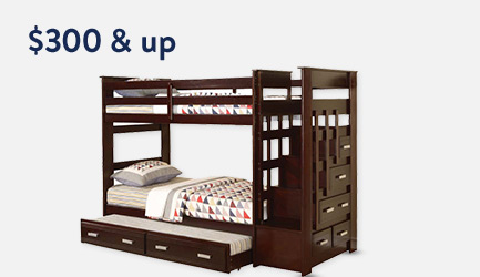 Shop bunk beds $300 & up.