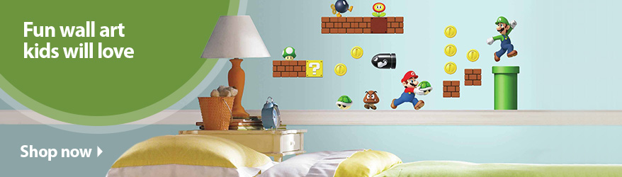 Wall Decor For Kids art & wall decor - walmart