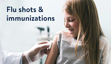 Flu shots & immunizations