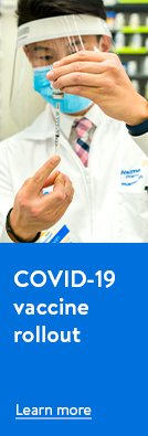 COVID-19 vaccine rollout. Learn more.