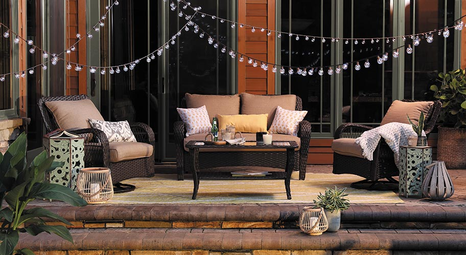 Superbe Keep Your Patio As Bright U0026 Comfy As It Was During The