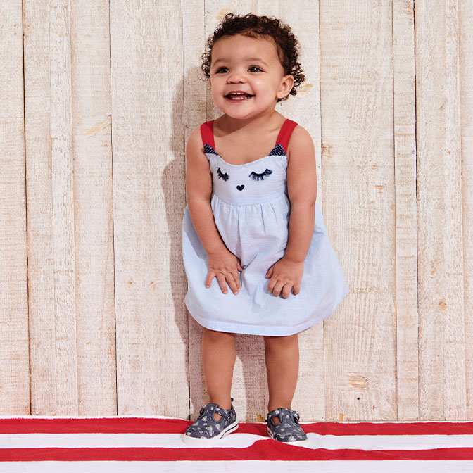 Girls' Clothing (sizes 4 & Up) Clothing, Shoes & Accessories Symbol Of The Brand Girls Lands' End Dog Dress Age 7