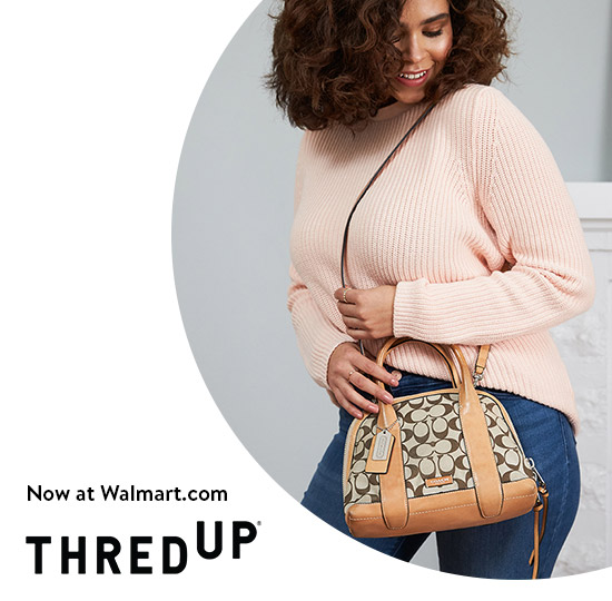 Thredup, now at Walmart.com. Shop all pre-owned styles from Coach and more top brands.