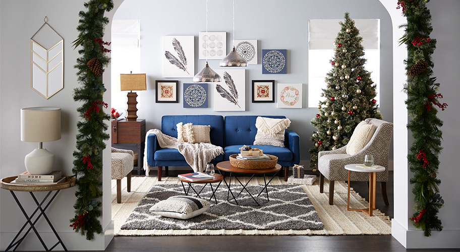 Holiday Oasis. Welcome Guests Into A Boho Inspired Space Full Of Cozy Finds  U0026