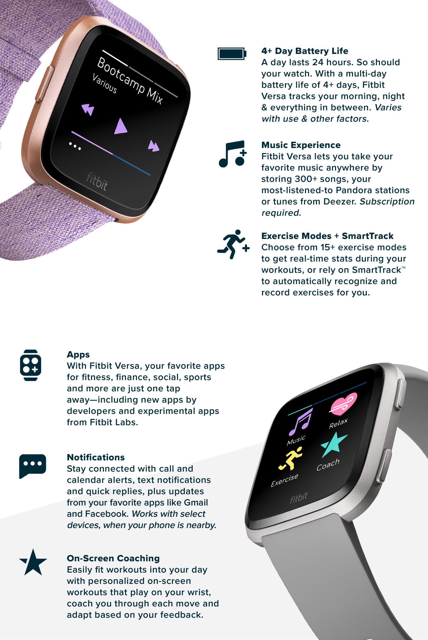 Fitbit Versa - Walmart.com